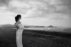 maternity portrait - composite