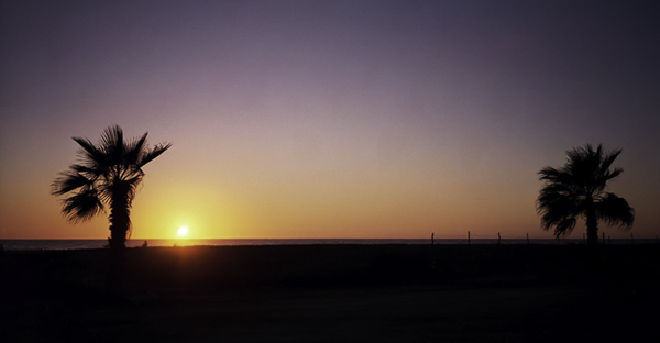 Sunset in Baja, California Sur