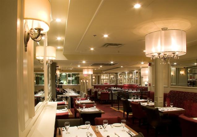 l'Academie Restaurant, Crescent Street, Montreal