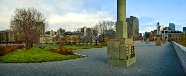 Canadian Centre for Architecture, Montreal, panoramic