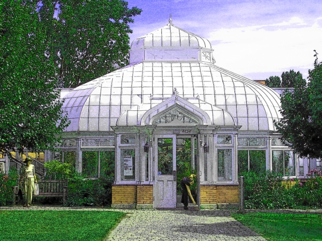 Victoria Hall greenhouse, Westmount